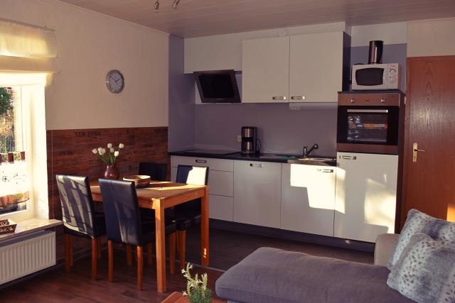 Küche Wohnung 2 Hof Schlossblick