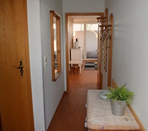 Hof-Schlossblick Wohnung 9 Flur
